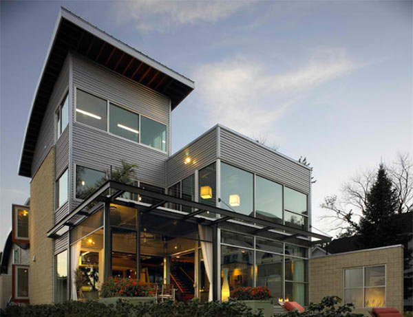 15 homes with industrial exterior designs home design lover - Industrial home design ...