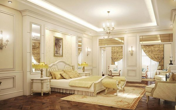 15 exquisite french bedroom designs home design lover for French master bedroom ideas