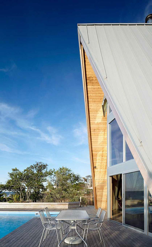 A Frame Residence A Striking Remodel Of A 1960s Beach