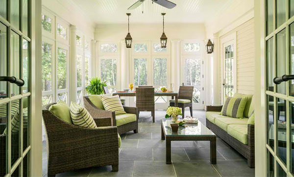 18 Sunrooms to Feel the Warmth of SunlightHome Design Lover