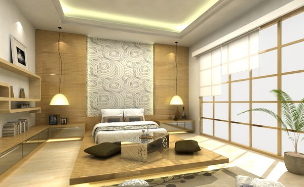 Embrace culture with these 15 lovely japanese bedroom for Interieur japonais design