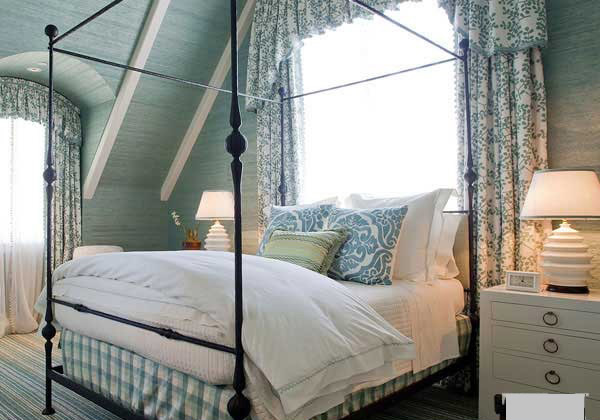 15 country cottage bedroom decorating ideas for Country cottage bedroom