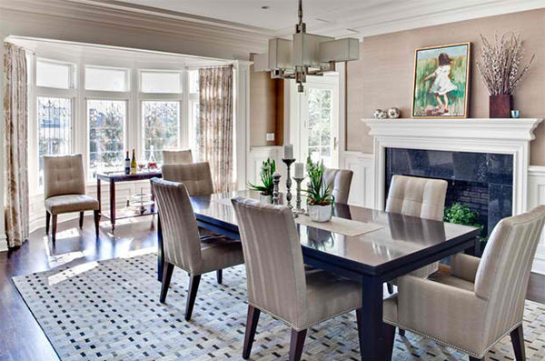 List Deluxe 15 Ideas in Designing Dining Rooms with Bay Window ...