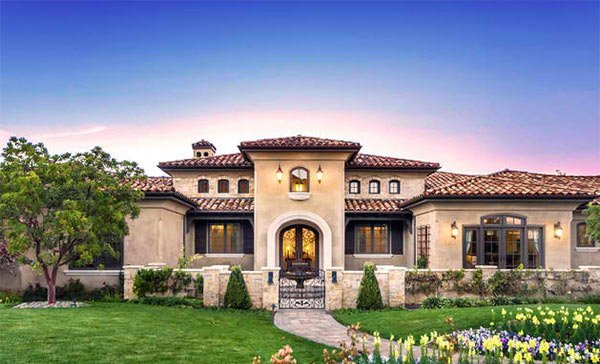 Tuscan Style Backyard Landscaping 15 in addition Italian Style House Plans Designs additionally Houseorhome further One Story Italian House Plans furthermore James Hardie Exterior Craftsman With Deep Overhangs Decorative Stepping Stones. on italian house plans with courtyard