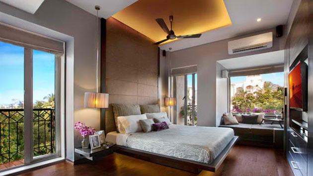 Bedroom Ideas Dark Wood 15 dark wood flooring in modern bedroom designs   home design lover