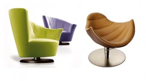 15 Modern Living Room Swivel Chair Designs