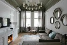 An Eclectic Stylish Apartment Design in Ukraine