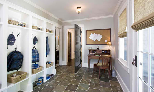 15 interiors of traditional mud room entry home design lover for Mudroom floor