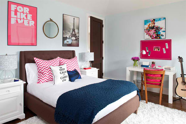 How to magically makeover a teenage girl s bedroom home design lover for Decore maison