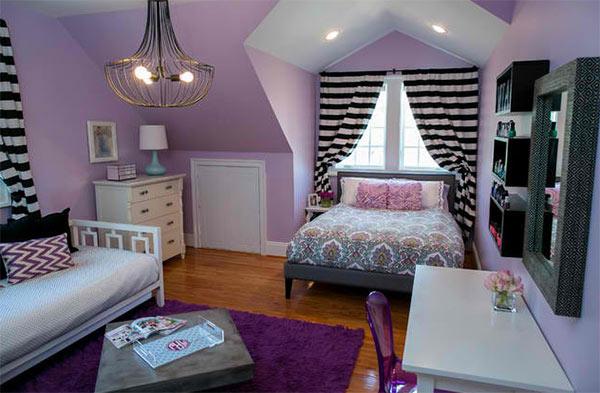 Thiết kế phòng ngủ theo sở thích cho bé gái mới lớn