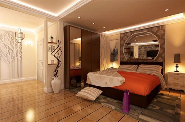 elegant bedroom interior design