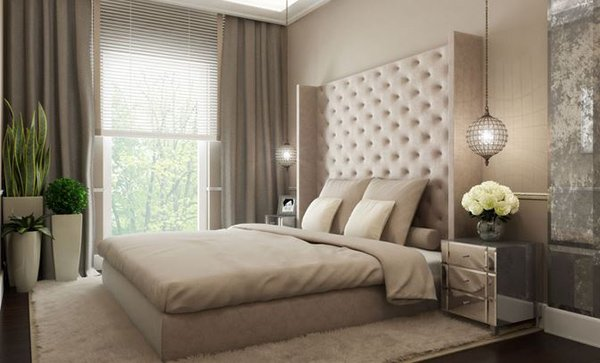 Glamorous Contemporary Bedroom Design