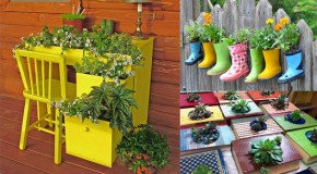17 DIY Planter Ideas To Add Fun to Your Garden