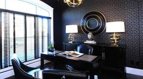 Stunning Wallpapers in 20 Home Office and Study Spaces