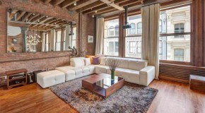 A Rustic Chic Apartment on Prince Street, USA
