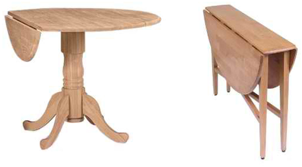 Nice Ikea Listed Here Are Two Samples Of Oval Drop Leaf Tables From Ikea. Each  The Tables Fold On All Sides And The Only Difference That They Have Is The  Leg ...