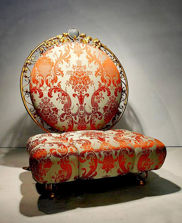 low style throne chair