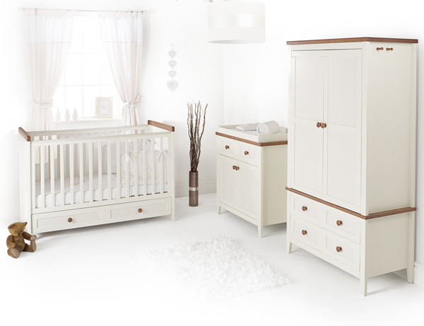 13. Silver Cross Nursery Furniture Set