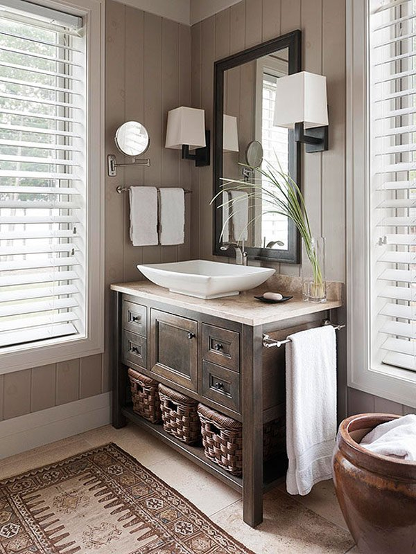 20 designs for bathroom window treatment home design lover for Window design bathroom