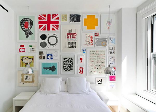 Thiết kế phòng ngủ hiện đại nam tính này đã được thực hiện Retro