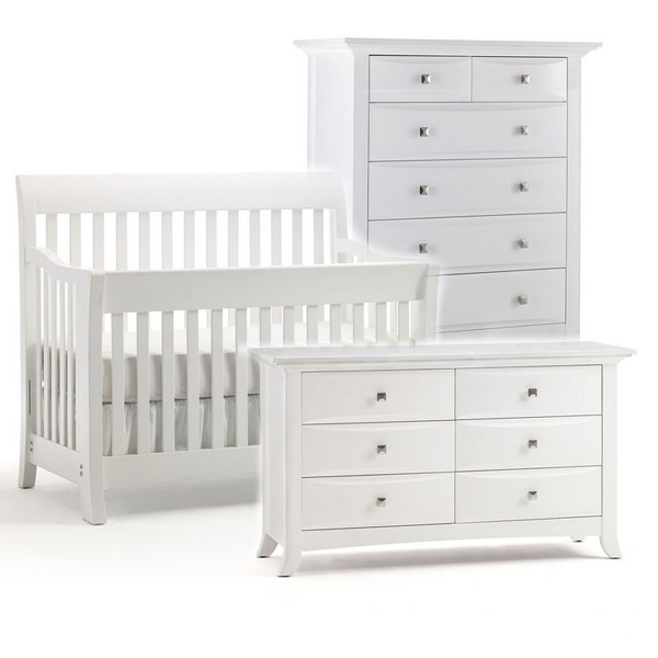 Nursery Furniture : 20 Beautiful White Nursery Furniture  Home Design Lover