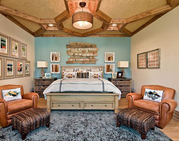 Một số giải pháp giúp bạn cải thiện bức tường trống trong phòng ngủ