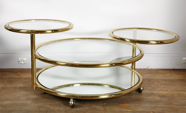 20 inimitable styles of swiveling glass coffee table | home design