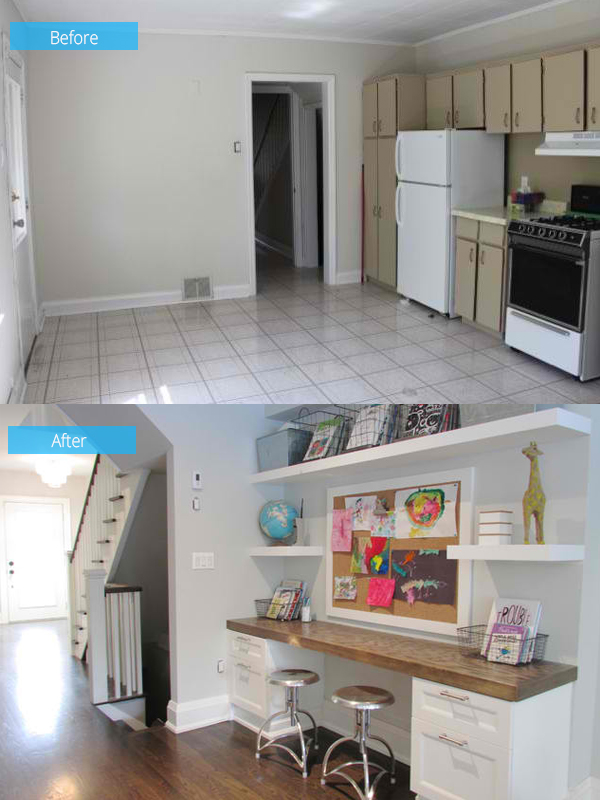 Toronto renovation before and after