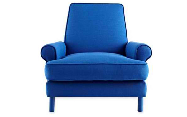 Blue Living Room Chair Living Room Design And Living Room Ideas