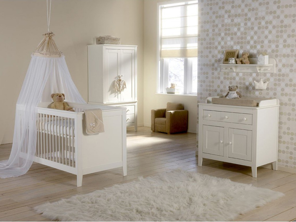 20 Beautiful White Nursery Furniture | Home Design Lover