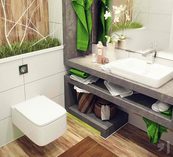 Opt for a corner sink