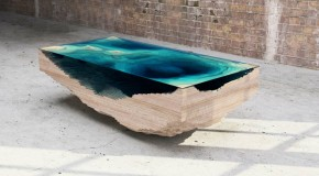 Bring the Ocean to Your Home with the Abyss Table