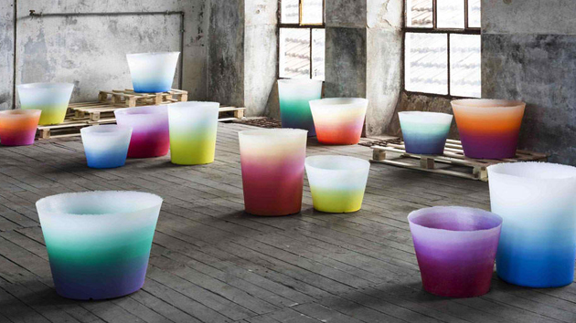 Alba: Lovely Gradient Pots and Lights for the Garden