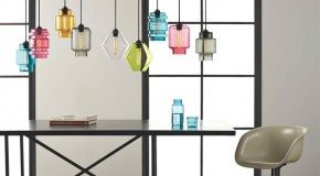 Lovely Modern Geometric Lights of the Crystalline Series from Niche Modern