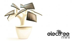 Electree Mimics Potted Plant, Provides Solar Power