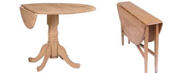 20 Pretty Wooden Oval Drop Leaf Dining Tables