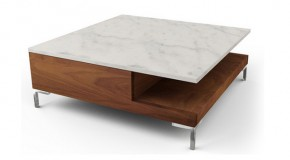 20 Contemporary Designs of Square Coffee Tables