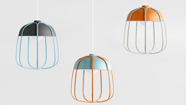 TULL Lamp: A New Take to Classic Workshop Metal Lamps