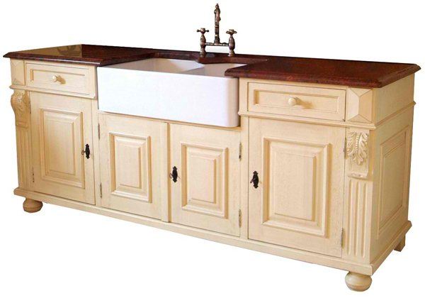 Home Design 20 Wooden Free Standing Kitchen Sink