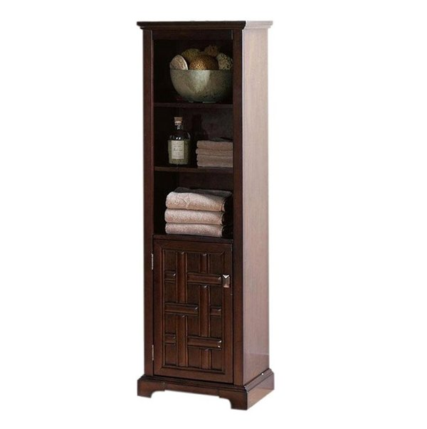 wood corner bathroom cabinet