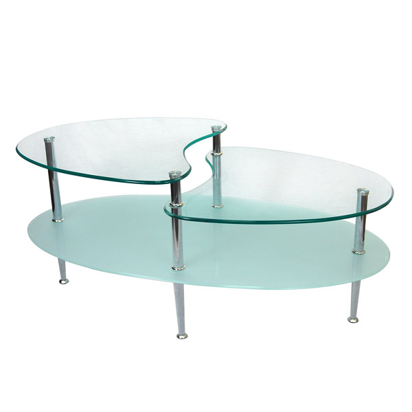 Style Your Modern Homes With Sleek Glass Coffee Table Home Design