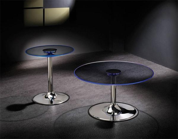 glass LED modern glass coffee