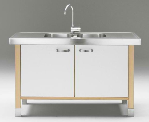 Kitchen Sink Cabinet : This is one design anyone would love to have. Simple, classy and super ...