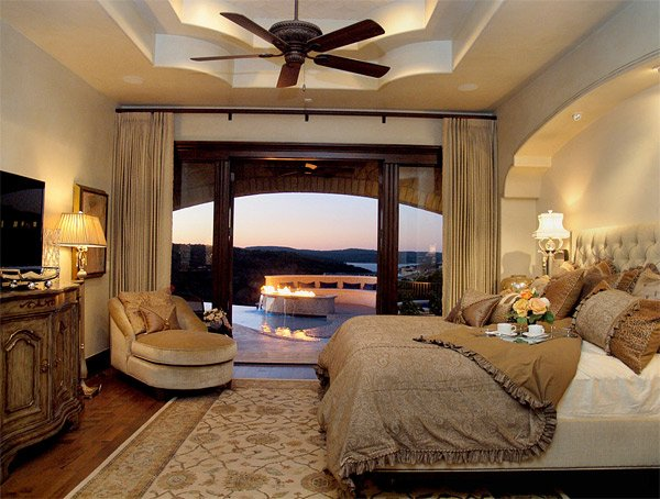 20 luxurious design of mediterranean bedroom home design for Bedroom ideas elegant