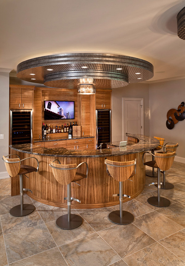 20 Designs Of Home Bar That Brings Entertainment Home