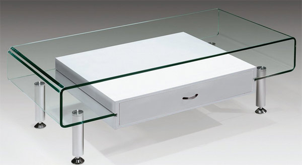 lacquer drawer modern glass