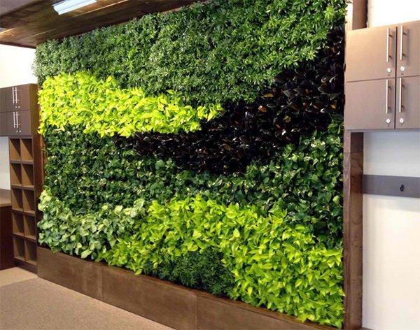 wall plant artwork
