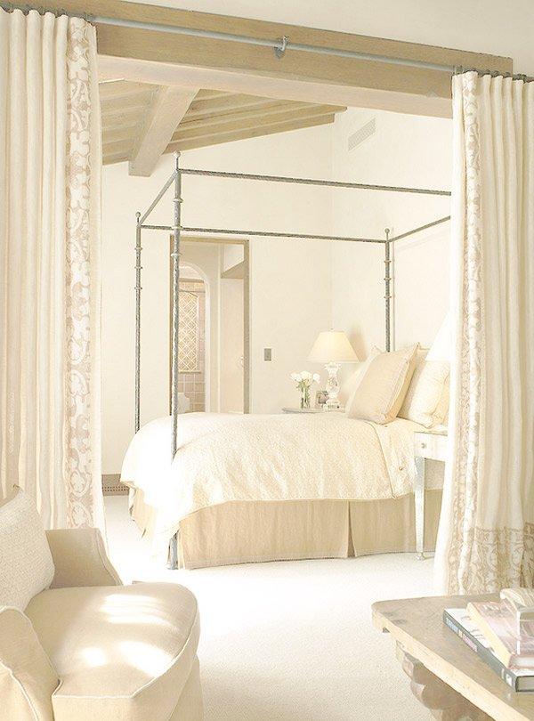 Mediterranean bedroom design