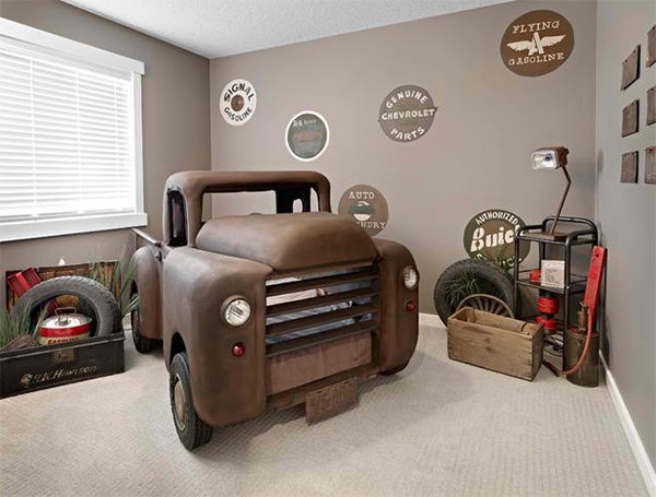 Kids Dune Buggy >> Zoom with Style in 20 Car Themed Bedroom for Your Boys | Home Design Lover