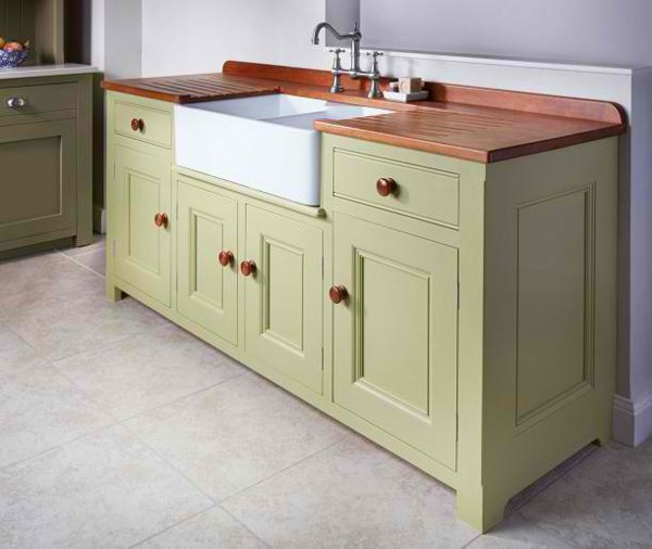 Free Standing Kitchen Sink : move for a traditional-classic design for a free standing kitchen sink ...